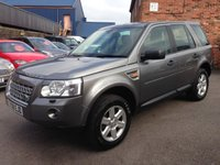 2008 LAND ROVER FREELANDER 2.2 TD4 GS 5d 159 BHP £7500.00