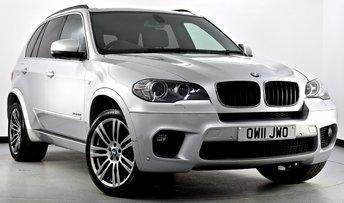 2011 BMW X5 3.0 30d M Sport xDrive 5dr £19495.00