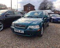 2001 VOLVO V40 1.9 T 5d 165 BHP £SOLD