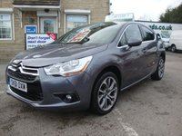 USED 2011 61 CITROEN DS4 1.6 HDi 115 DSTYLE 5DR GREAT VALUE DS4 WITH 4 X MAIN DEALER STAMPS