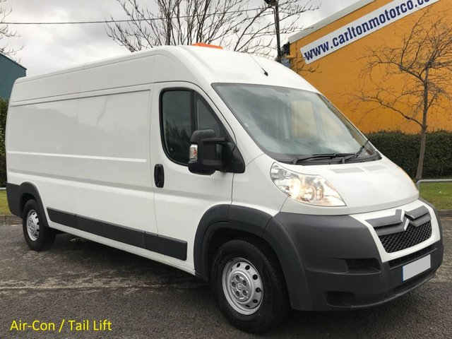 2013 13 CITROEN RELAY 130 Heavy 35 L3 H2 LWB panel van Low Mileage only 25k Tail Lift, Ex Lease, History Printout Free UK Delivery