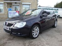 USED 2010 10 VOLKSWAGEN EOS 1.4 TSI BLUEMOTION TECH SE (GLASS ROOF ) GREAT VALUE LOW MILEAGE CONVERTIBLE