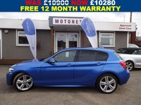 USED 2014 14 BMW 1 SERIES 2.0 118D M SPORT 5DR DIESEL 141 BHP++£30 PER YEAR ROAD TAX++ +++BANK HOLIDAY SALE NOW ON+++