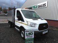 2016 FORD TRANSIT 2.2 350 L3  125 BHP ARB TIPPER CHOICE STILL IN FORD WARRANTY HI SIDE TIPPER  £18995.00
