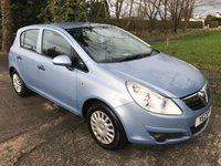 USED 2009 VAUXHALL CORSA 1.2 LIFE A/C 5d 80 BHP