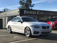 USED 2017 66 BMW 2 SERIES 2.0 225D M SPORT 2d AUTO 222 BHP