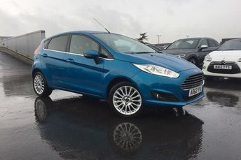 2013 FORD FIESTA 1.0 EcoBoost TITANIUM 5d 99 BHP PETROL LOVELY EXAMPLE LOW MILES FULL SERVICE HISTORY  MOT TILL-01/2019 1ST 2 SEE WILL BUY  £7995.00