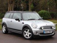 USED 2007 57 MINI CLUBMAN 1.6 COOPER 5d 118 BHP £99 PCM With £0 Deposit
