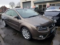 2007 FORD FOCUS 2.0 CC3 2 DOOR COUPE CONVERTIBLE £SOLD