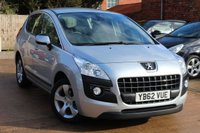 USED 2013 62 PEUGEOT 3008 1.6 ACTIVE 5d 120 BHP * LOW MILEAGE * BLUETOOTH * AIR CON *