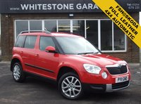 USED 2011 11 SKODA YETI 2.0 ELEGANCE TDI CR DSG 5d AUTO 138 BHP 4x4 DIESEL, HEATED LEATHER SEATS, FSH FROM SKODA, CRUISE CONTROL, CLIMATE CONTROL, SPARE SET OF WINTER WHEELS AND TYRES