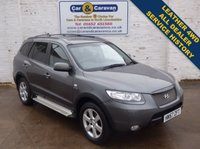 USED 2007 57 HYUNDAI SANTA FE 2.2 LIMITED 5 CRTD 5d AUTO 153 BHP All Dealer History Leather 4WD 0% Deposit Finance Available