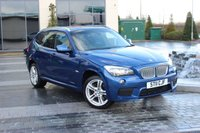 USED 2011 11 BMW X1 2.0 XDRIVE23D M SPORT 5d 201 BHP VERY RARE HIGH SPEC XDRIVE23D