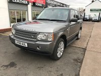 USED 2008 58 LAND ROVER RANGE ROVER 3.6 TDV8 VOGUE 5d AUTO 272 BHP Full Service History-Sat Nav-Detachable Tow Bar-Heated Leather Seats