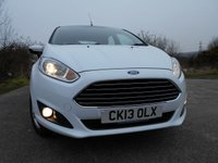 USED 2013 13 FORD FIESTA 1.2 ZETEC 5d 81 BHP ** £30 ROAD TAX , NEW MODEL, LOVELY EXAMPLE **
