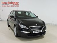 USED 2015 15 PEUGEOT 308 1.6 BLUE HDI S/S ACTIVE 5d 120 BHP