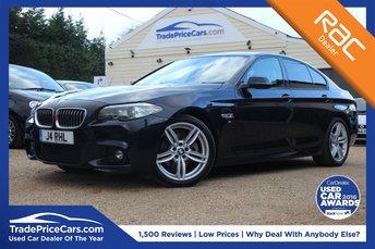 2014 BMW 5 SERIES 2.0 520D M SPORT 4d AUTO 188 BHP £18495.00