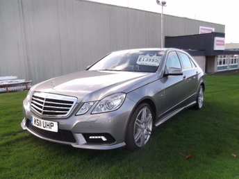 2011 MERCEDES-BENZ E CLASS 3.0 E350 CDI BlueEFFICIENCY Sport Edition 125 7G-Tronic 4dr £11995.00