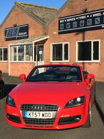 2007 AUDI TT 2.0 TFSI 2d 200 BHP £6850.00