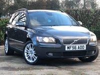 2006 VOLVO V50 2.0 D SE 5d 135 BHP £3695.00