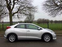 2012 HONDA CIVIC 1.3 I-VTEC SE 5d 98 BHP £6995.00