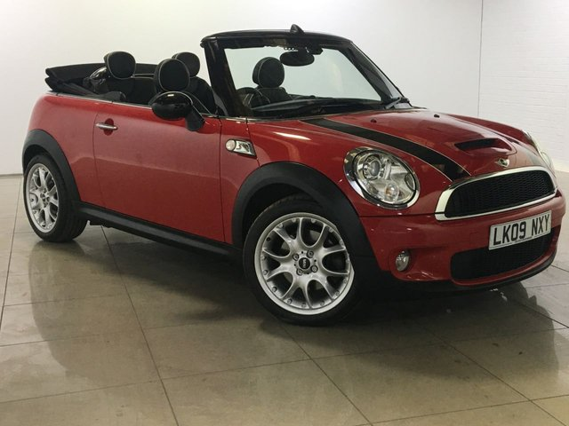View our 2009 09 MINI CONVERTIBLE 1.6 COOPER S 2d 175 BHP