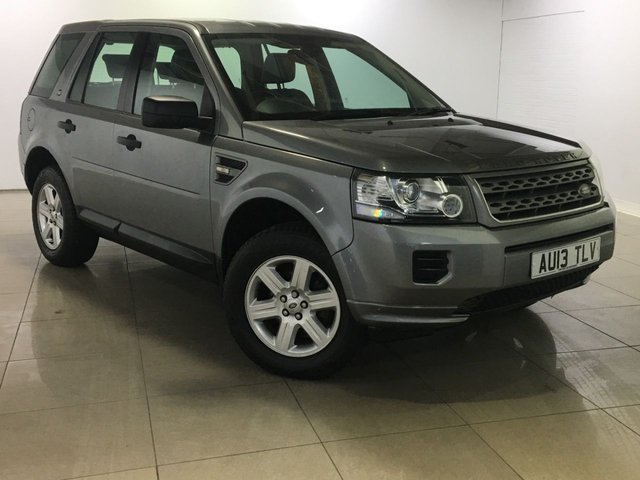 View our 2013 13 LAND ROVER FREELANDER 2.2 TD4 GS 5d AUTO 150 BHP