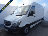 USED 2015 65 MERCEDES-BENZ SPRINTER 2.1 313 CDI MWB 1d 129 BHP BLUE TOOTH  BLUE TOOTH AND CRUISE CONTROL SECURITY LOCKS AND REAR T-BAR