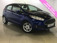 USED 2014 64 FORD FIESTA 1.0 ZETEC 5d AUTO 100 BHP 1 Owner/Ideal First Car/A/C