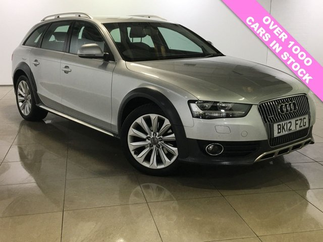 View our 2012 12 AUDI A4 ALLROAD 2.0 ALLROAD TDI QUATTRO S/S 5d 174 BHP