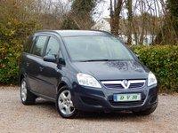 2008 VAUXHALL ZAFIRA 1.6 EXCLUSIV 5d 105 BHP £2970.00