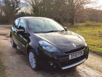 USED 2010 10 RENAULT CLIO 1.1 DYNAMIQUE TOMTOM 16V 3d 74 BHP TomTom, Alloy Wheels, Low Tax
