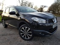 USED 2012 61 NISSAN QASHQAI+2 1.6 N-TEC PLUS 2 5d GLASS ROOF SAT NAV