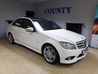 USED 2010 60 MERCEDES-BENZ C CLASS 1.8 C180 CGI BLUEEFFICIENCY SPORT 4d AUTO 156 BHP * TWO OWNERS * FULL HISTORY *