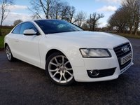 2011 AUDI A5 2.0 TFSI SPORT 2d FULL BLACK LEATHER £8575.00