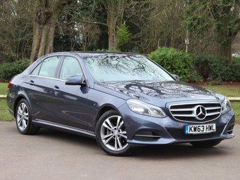 2014 MERCEDES-BENZ E CLASS 2.1 E220 CDI SE 4d AUTO 168 BHP £13995.00