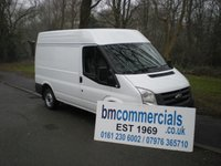 2012 FORD TRANSIT 2.2 260 SHR 1d 85 BHP SWB HIGH ROOF £5690.00