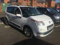 USED 2012 12 CITROEN C3 PICASSO 1.6 PICASSO EXCLUSIVE EGS 5d AUTO 120 BHP EGS 6 AUTOMATIC GEARBOX!!..EXCLUSIVE MODEL WITH PANORAMIC WINDSCREEN,CLIMATE CONTROL AND PARKING SENSORS!!..GOOD FUEL ECONOMY, LOW CO2 EMISSIONS(137G/KM)..LOW ROAD TAX..FULL HISTORY...ONLY 11067 MILES FROM NEW!!