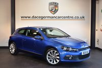 USED 2011 61 VOLKSWAGEN SCIROCCO 2.0 GT TDI 2DR 170 BHP + FULL SERVICE HISTORY + BLUETOOTH + SPORT SEATS + HEATED MIRRORS + AUXILIARY PORT + 18 INCH ALLOY WHEELS +