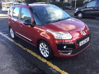 USED 2012 62 CITROEN C3 PICASSO 1.6 PICASSO CODE HDI 5d 91 BHP PRICE INCLUDES A 6 MONTH AA WARRANTY DEALER CARE EXTENDED GUARANTEE, 1 YEARS MOT AND A OIL & FILTERS SERVICE. 6 MONTHS FREE BREAKDOWN COVER.