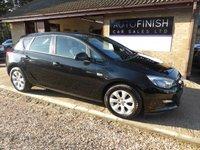2015 VAUXHALL ASTRA 1.6 DESIGN 5d AUTO 115 BHP £7495.00