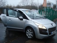 USED 2011 11 PEUGEOT 3008 1.6 ACTIVE HDI 5d 112 BHP 2KEYS+HISTORY+ALLOYS+AIRCON+