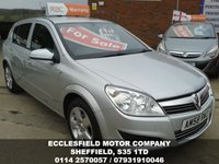 2008 VAUXHALL ASTRA 1.6 BREEZE 5d 115 BHP £SOLD