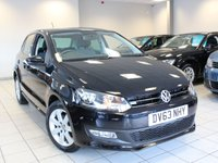2013 VOLKSWAGEN POLO 1.4 MATCH EDITION 5d £6285.00
