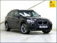 """USED 2012 62 BMW X1 2.0 XDRIVE20D SPORT 5d AUTO 181 BHP LEATHER•HFS•PRIVACY•F+RPS•18""""..."""