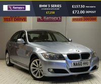 USED 2010 60 BMW 3 SERIES 2.0 320D SE 4d AUTO 181 BHP