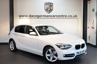 USED 2012 62 BMW 1 SERIES 2.0 118D SPORT 5DR 141 BHP + BLUETOOTH + SPORT SEATS + AUXILIARY PORT + AIR CONDITIONING + 17 INCH ALLOY WHEELLS +