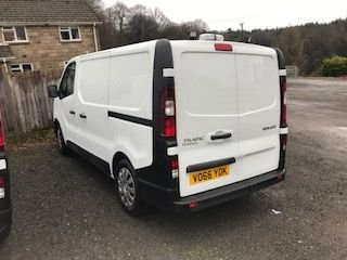 2016 66 RENAULT TRAFIC 1.6 SL27 BUSINESS ENERGY DCI 95 BHP