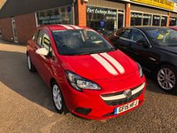USED 2015 15 VAUXHALL CORSA 1.2 STING 3 DOOR 69 BHP IN RED WITH ONLY 23000 MILES APPROVED CARS ARE PLEASED TO OFFER THIS  VAUXHALL CORSA 1.2 STING 3 DOOR 69 BHP IN RED WITH ONLY 23000 MILES THIS CAR IS A ONE OWNER WITH FULL SERVICE HISTORY IN SOLID BRIGHT RED WITH WHITE BONNET ROOF AND TAILGATE STRIPS IN IMMACULATE CONDITION IN EVERY RESPECT.
