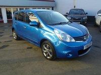 2011 NISSAN NOTE 1.6 N-TEC 5d AUTO 110 BHP £5995.00